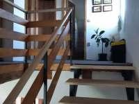 schodiště do 1 patra - Hačky