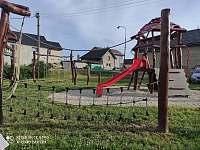 Dětské hřiště, vzdálené cca 300m od ubytování - Štěpánov - Moravská Huzová