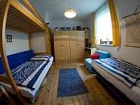 Pokoj č. 1 - v přízemí - rekreační dům ubytování Týn nad Bečvou