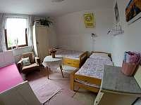 Pokoj č. 2 - pronájem rekreačního domu Týn nad Bečvou