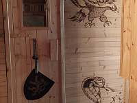 Sauna - pronájem srubu Čeladná