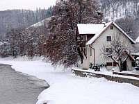 I v zimě je na Hradci krásně - chalupa ubytování Hradec nad Moravicí