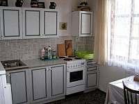 V kuchyni či venku na grilu připravíte ty nejlepší dobroty - pronájem chalupy Hradec nad Moravicí