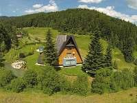 Horská chata z RC dronu