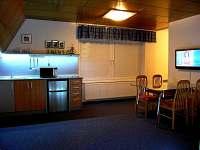 apartmá Standard / kuchyň a jídelna je součástí obyvacího pokoje... - ubytování Halenkov