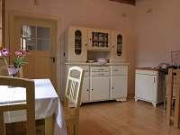 """Apartmán """"Na verandě"""" - kuchyně"""