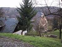 Areál vodního mlýna v nedávné minulosti - pohled od pole