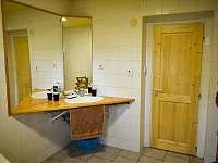 Koupelna pohled na umyvadlo - pronájem chaty Hradec nad Moravicí - Žimrovice