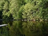 Pohled na řeku a molo - Hradec nad Moravicí - Žimrovice