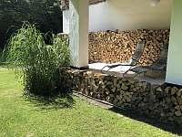 Terasa s lehátky - chata k pronajmutí Hradec nad Moravicí - Žimrovice