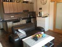 Obývací pokoj s kuchyňským koutem - Hlivice