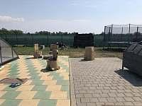 Ohniště a trampolína - Hlivice