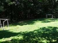 Hřiště u chaty - k pronajmutí Odry - Loučky
