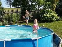 Bazén - chalupa k pronájmu Budišov nad Budišovkou