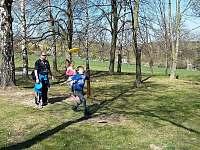 Discgolf park (cca 200m) - Budišov nad Budišovkou