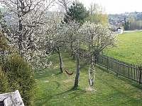 Dolní zahrada - chalupa k pronajmutí Budišov nad Budišovkou