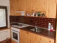 Plně vybavená kuchyň - chata ubytování Dolní Domaslavice