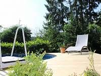 Bazén - chalupa ubytování Kružberk