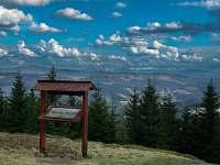 Výhled z kopce