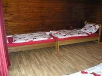 Ložnice v podkroví - chalupa k pronájmu Palkovice