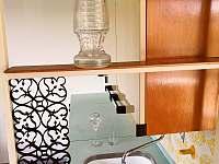 krásná původní kuchyňská linka - chalupa k pronajmutí Mladeč