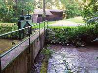 okolí - malá vodní elektrárna - Mladeč