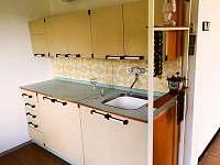 stylová kuchyňská linka - chalupa ubytování Mladeč