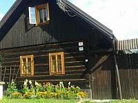 Chalupa k pronájmu - dovolená Slovenské rudohoří rekreace Závadka nad Hronom