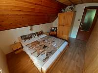 Spálňa s dvoma lôžkami - pronájem chaty Oščadnica