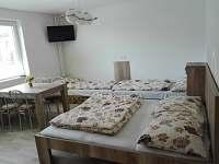 4 lôžková - rekreační dům ubytování Smižany