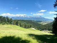 Nádherné výhľady všade navôkol - Lučivná - Lopušná Dolina