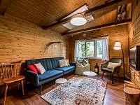 Obývačka - chata k pronajmutí Lučivná - Lopušná Dolina