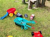 Vonkajšie hračky pre deti - Lučivná - Lopušná Dolina