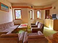 Společenská místnost - chata ubytování Štôla