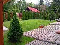 Zahrada - chata k pronajmutí Štôla