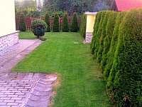 Zahrada - pronájem chaty Štôla