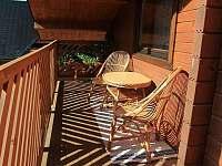 balkón - chata k pronájmu Habovka