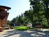 exteriér dvor leto - chata ubytování Habovka