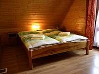 Spálňa 1 - manželské lôžko - chata k pronajmutí Lubela - Liptov
