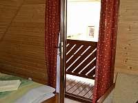 Spálňa 1 - s balkónom a výhľadom na dvor - Lubela - Liptov