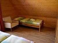 Spálňa 1 - samostatné lôžko - chata ubytování Lubela - Liptov