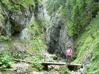 Prosiecká dolina 22 km,jedna zo siedmych najkrajších dolín Slovenska