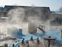 Bazény s geotermální vodou - apartmán k pronajmutí Bešeňová