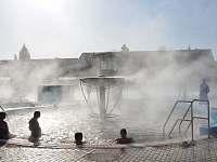 Termální bazén - apartmán ubytování Bešeňová