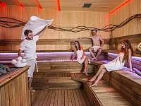 Termální lázně Bešeňová - sauna -
