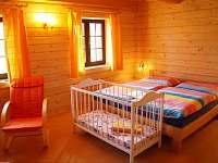 Dvojlôžková izba s pristelkou - chata k pronájmu Liptovský Trnovec