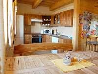 Spoločná kuchyňa so sedením - chata k pronájmu Liptovský Trnovec