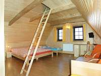 Štvorlôžková izba s možnosťou prístelky v podkrovných priestoroch - chata ubytování Liptovský Trnovec