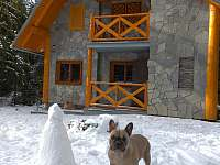 chata v zimě - pronájem Tatranská Štrba