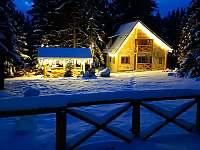 chata v zimě - ubytování Tatranská Štrba